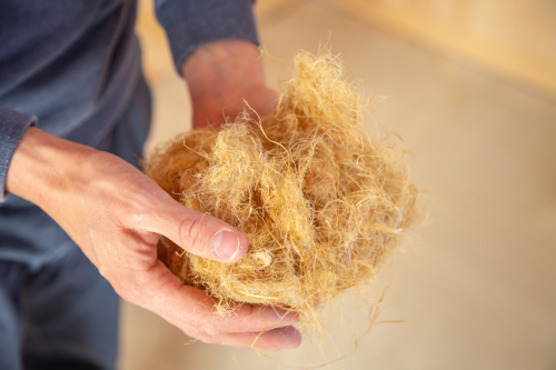 isolation en laine de bois